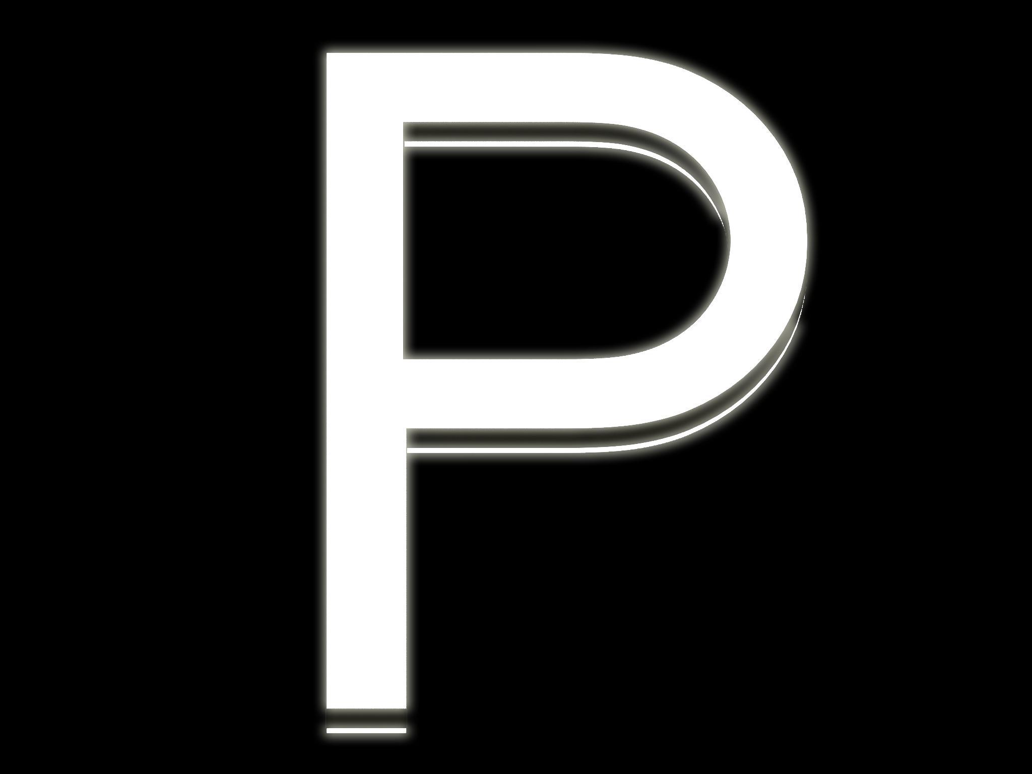 P Front Lit